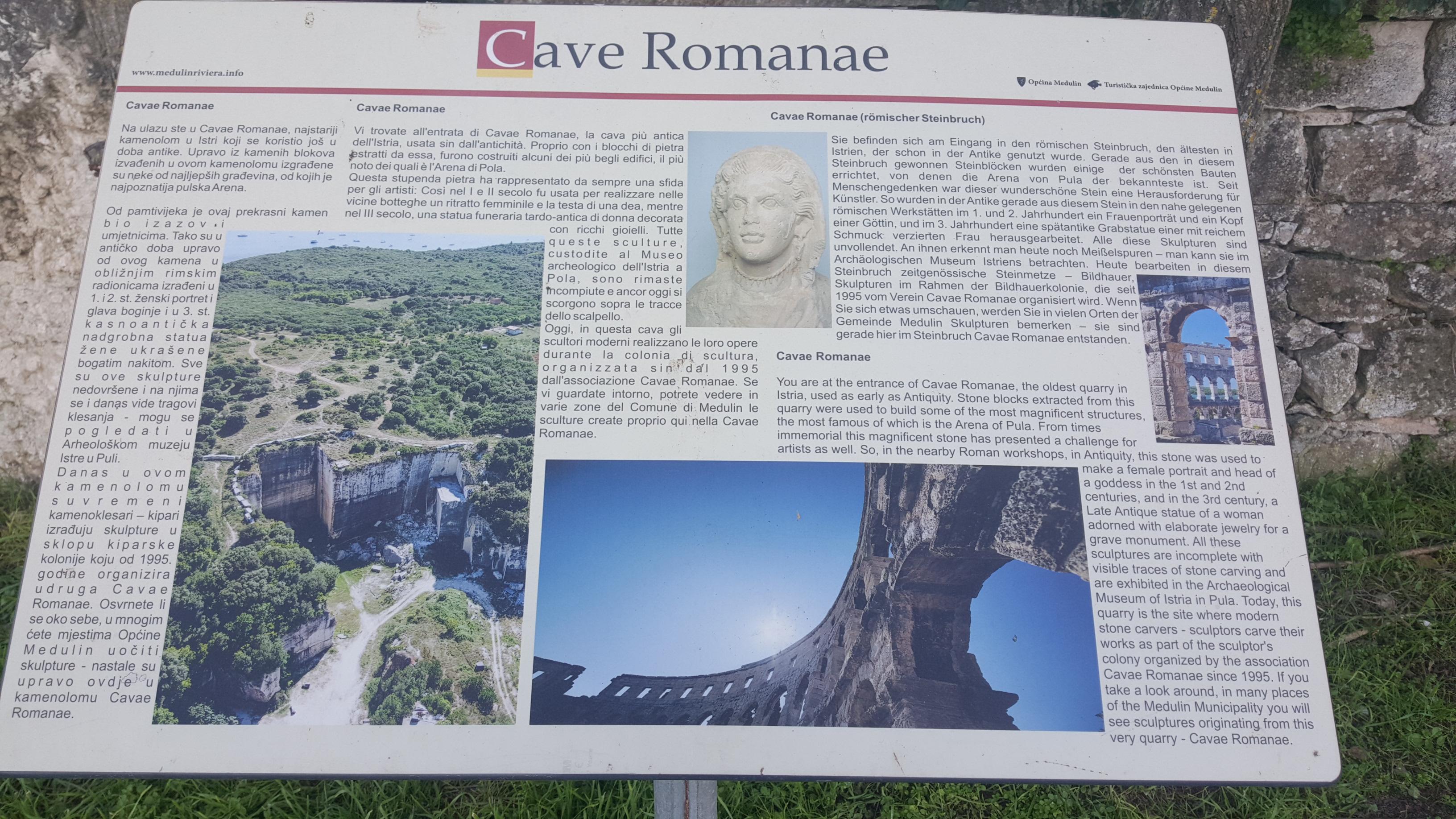CAVAE ROMANAE - ISTRIAGO.NET