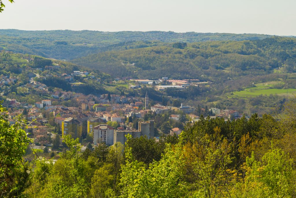 LINDAR - MY FATHER'S VILLAGE AT THE HILLTOP ABOVE PAZIN