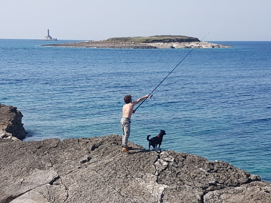 LOCALS BRING ITALIAN FISHERMAN ON KAMENJAK IN PREMANTURA