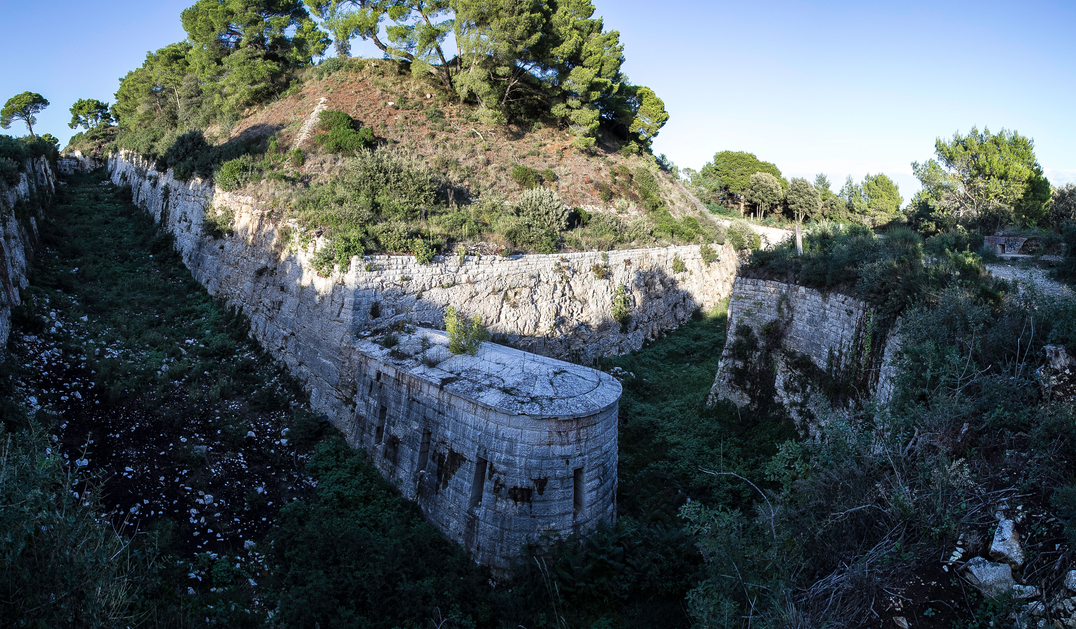 THE BIGGEST AUSTRO-HUNGARIAN FORTIFICATION IN ŠTINJAN NEAR PULA