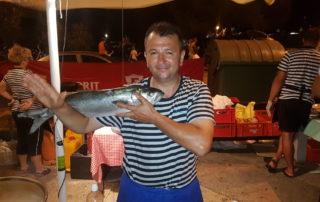 FISH FESTIVAL IN VRSAR