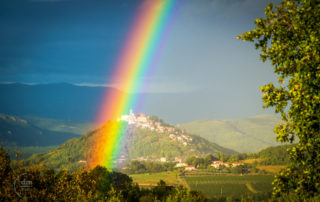 RAINBOW DAY IN MOTOVUN