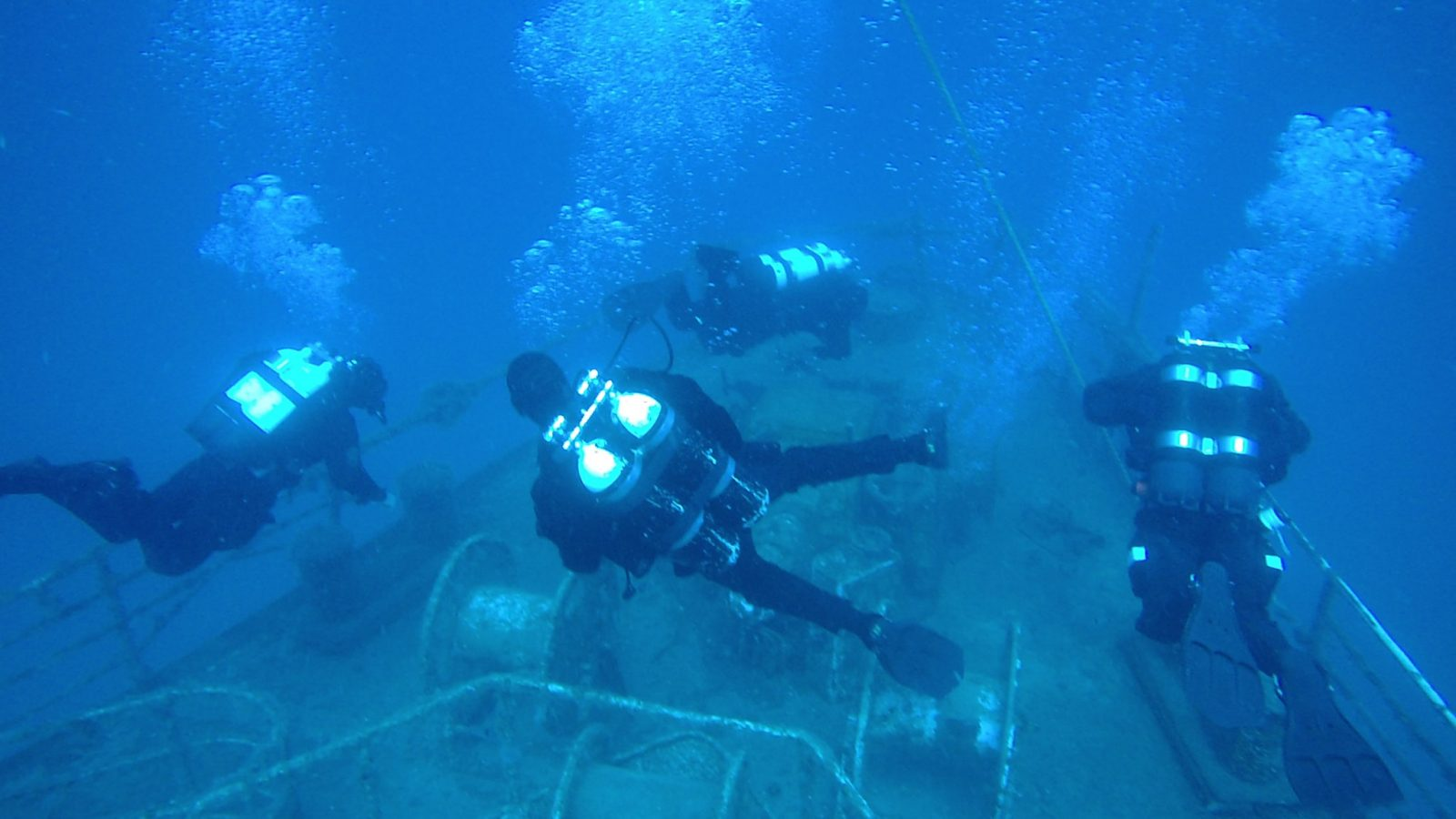 VERUDELA,DIVING & UNDERWATER LIFE AT SPOT LIGHTHOUSE IN PULA